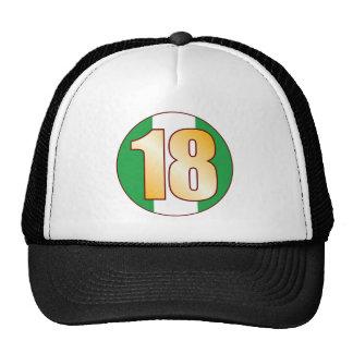 18 NIGERIA Gold Cap