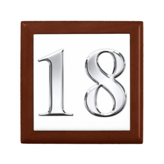 18 th Birthday Gift Box