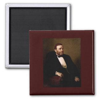 18 Ulysses S. Grant Square Magnet