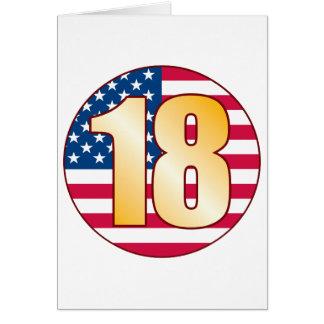 18 USA Gold Card