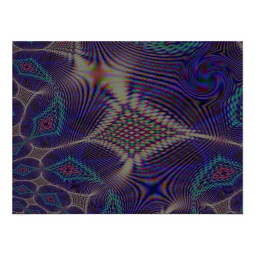 18 x 24 Experiencing Interference Poster