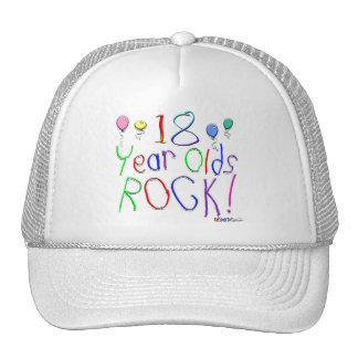 18 Year Olds Rock ! Hat