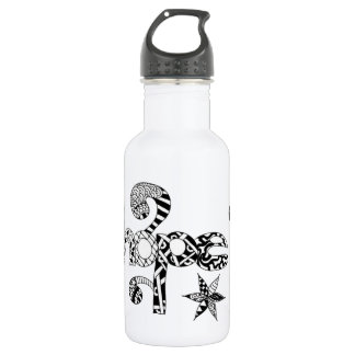 18oz water bottle with hope design