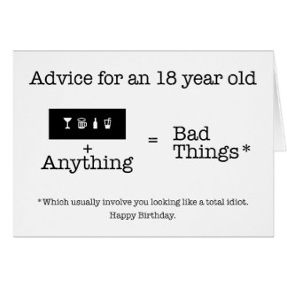 18th Advice Card