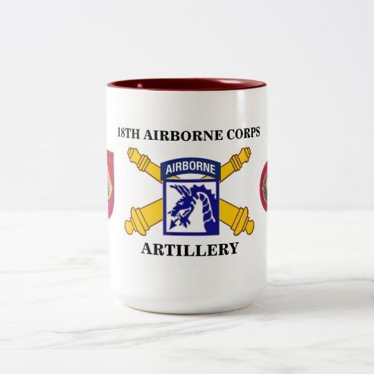 18th AIRBORNE CORPS ARTILLERY MUG