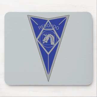 18th Airborne Recondo - Fort Bragg - Infantry Blue Mouse Pad