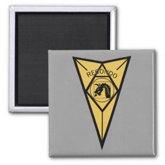 18th Airborne Recondo Square Magnet