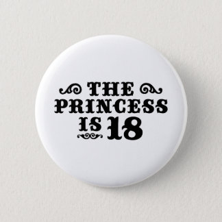 18th Birthday 6 Cm Round Badge