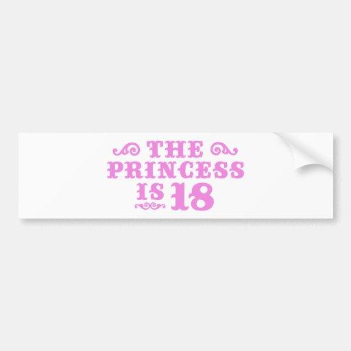18th Birthday Bumper Stickers