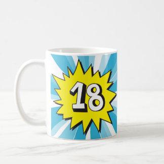 18th birthday coffee mug
