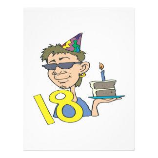 18th Birthday Flyers