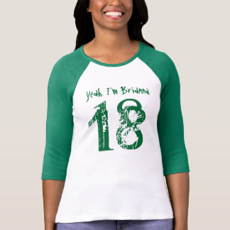 18th Birthday Gift Eighteen Custom Name V115 T-Shirt