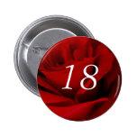18th Birthday Pin