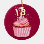 18th Birthday - Pink Cupcake