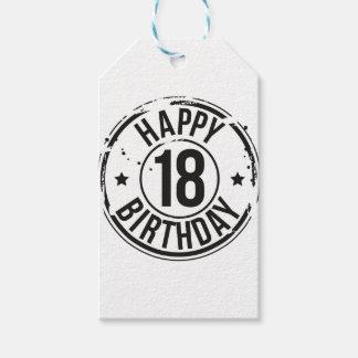 18TH BIRTHDAY STAMP EFFECT