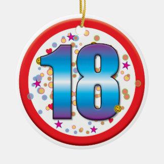 18th Birthday v2 Christmas Ornament