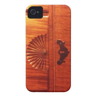18th C Tiger Maple Highboy Drawer Iphone 4 case
