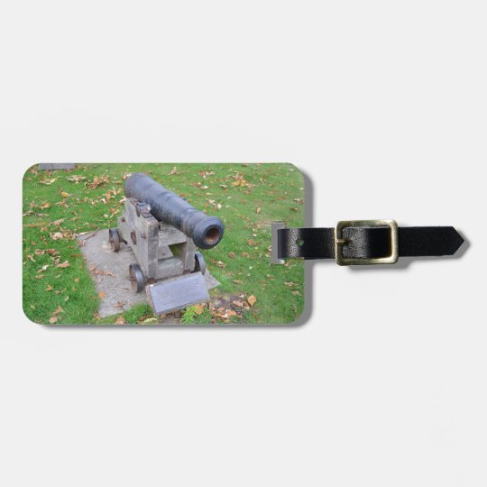 18th Century Cannon Luggage Tag