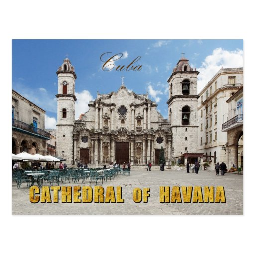 18th Century Havana Cathedral, Havana, Cuba Postcards