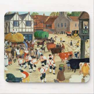 18th century Mayfair cattle market Mouse Mat