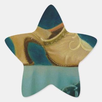 18th Century Shoe Star Sticker