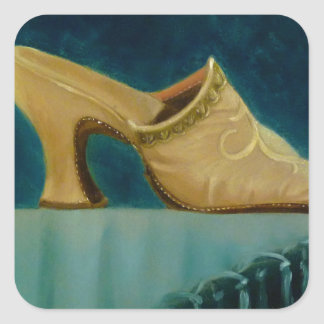18th Century Shoe Sticker