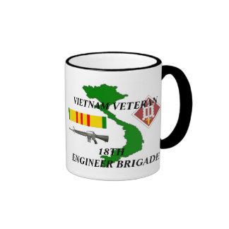 18th Engineer Brigade Vietnam Veteran Coffee Mugs