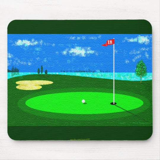 18th Hole Mouse Mat