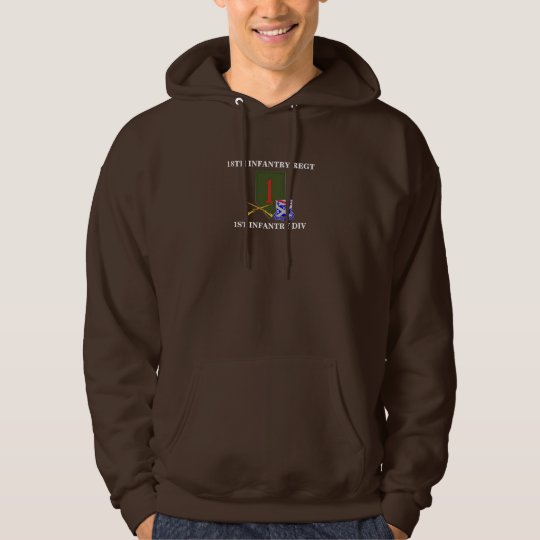 18TH INFANTRY REGIMENT HOODED SWEATSHIRT