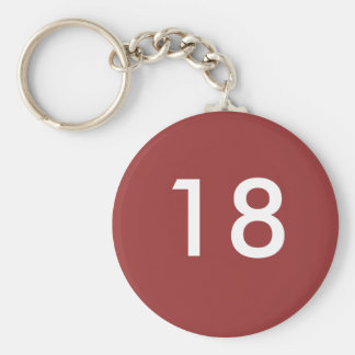 18th key ring
