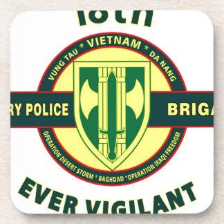 "18TH MILITARY POLICE BRIGADE ""EVER VIGILANT"" COASTER"
