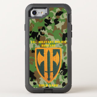 18th MILITARY POLICE BRIGADE OtterBox  6/6s OtterBox Defender iPhone 8/7 Case