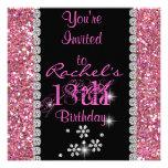 18th PINK CHIC Birthday Party Invitation