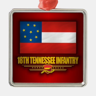 18th Tennessee Infantry Christmas Ornament