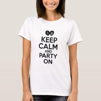 18th year birthday designs T-Shirt