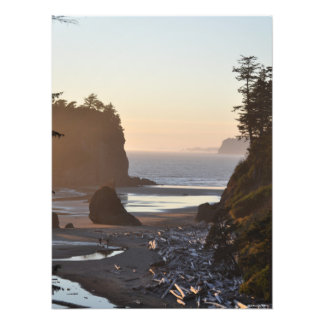 18x24 Ruby Beach on the Pacific Ocean Photo Print