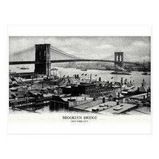 1900 Brooklyn Bridge Panorama Post Card