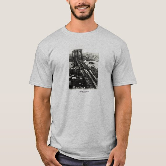 1900 Brooklyn Bridge T-Shirt