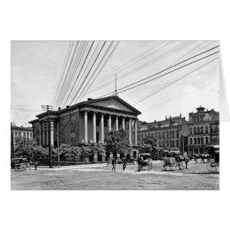 1900 Courthouse Nashville Greeting Card