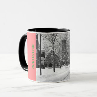 1900 First Congregational Church Detroit Mug