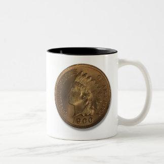 1900 Indian Head Penny Mug