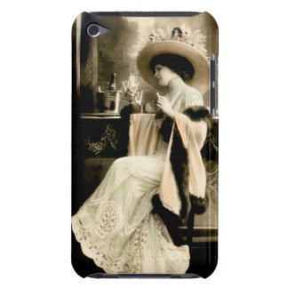 1900 Parisian Woman Drinking Champagne iPod Touch Covers