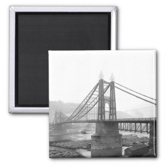 1900 Pointe Bridge Pittsburgh Pa. Magnet