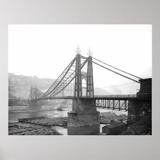 1900 Pointe Bridge Pittsburgh Pa. Print