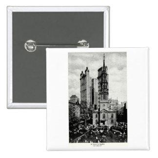 1900 St Paul s Chapel New York City Pins