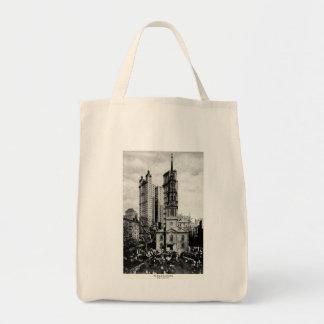 1900 St. Paul's Chapel, New York City Tote Bag