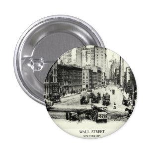 1900 Wall Street Button