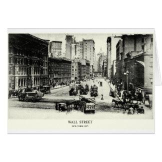1900 Wall Street Card