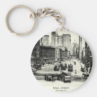 1900 Wall Street Keychain