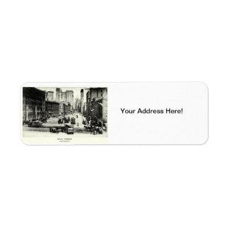 1900 Wall Street Return Address Label